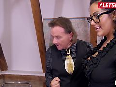 LETSDOEIT Busty MILF Ashley Cumstar Gets Promotion From Boss