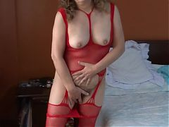 My Latina wifes sister exhibits her very excited, hairy pussy