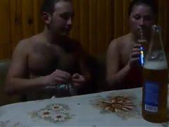 spycam in sauna he had fun with girl