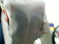 Pedacinho da cuzuda na escada rolante UPS Nice brunette