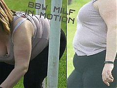 031 - BBW MILF in Motion (Field Series)