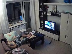 Hidden Cam in Living Room