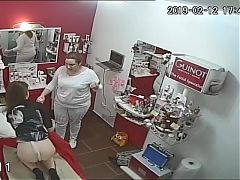 Hidden cameras.Beauty salon,hair removal pussy and ass 5