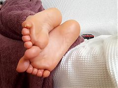 sole show Gfs sexy small feets soles