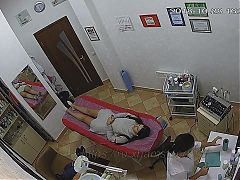 Hidden cameras.Beauty salon,hair removal pussy and ass 2